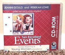 Ten Excellent Events CD-Rom Young Women 35 Activities LDS Mormon by Gould & Lowe