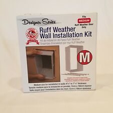 Ruff Weather Designer Series Wall Installation Kit Fits Medium Pet Door NEW
