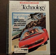 High Technology Magazine back issue June 1986 Computers transforming family car