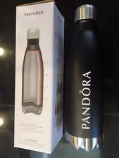 Pandora Charm Jewelry H2GO FORCE Water Bottle Matte Black Iconic Hot & Cold Gift