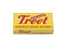 100 żyletek Treet Durasharp double edge razor blade Dura Sharp