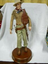 John Wayne Portrait Doll Franklin Mint  With Box & Certificate of Authenticity.