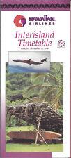 Hawaiian Air Interisland timetable 11/11/94 [6061] (buy 4+ save 50%)