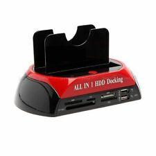 Station d'accueil dock pour disque dur 2,5 ou 3,5 pouce USB pour SSD HDD SATA
