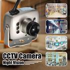 Mini 6 LED Wired CMOS CCTV Security Camera Night Vision Hide Pinhole Spy Camera