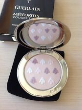 GUERLAIN METEORITES POUDRE D'OR EXCEPTIONAL PRESSED POWDER refillable RARE NIB