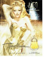 PUBLICITE ADVERTISING 027  2012   parfum Alien Thierry Mugler  Essence Abolue