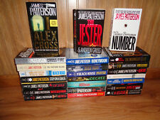 Lot of 24 James Patterson Books Number Jester I Alex Cross 4th of July Cross Fir