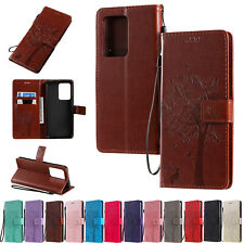For Samaung Galaxy S20+ S20 Ultra Patterned Leather Case Magnetic Wallet Cover