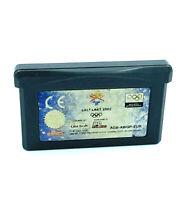 Jeux Olympiques Salt Lake 2002 jeu Nintendo Game Boy Advance GBA PAL