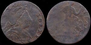 George III. Non-Regal Evasion Halfpenny, 1775. Duke Of Yorke / Simian Mule.