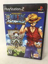Shonen Jump ONE PIECE GRAND BATTLE PS2 PlayStation 2 Complete Disc Case Booklet