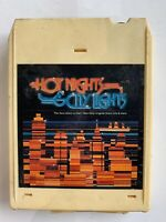 HOT NIGHTS  CITY LIGHTS  8 Track Tape Blondie Jacksons T Connection Instant Funk