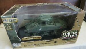 Forces Of Valor 81007 U.S. M4A3 Sherman Tank Normandy 1944 1:32 factory sealed