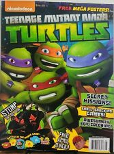 Nickelodeon Teenage Mutant Ninja Turtles Secret Missions Games Free Shipping sb