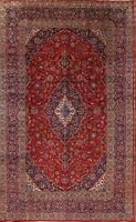 Vintage Floral Ardakan Hand-Knotted Traditional Oriental Area Rug 8'x13' Carpet