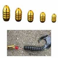 Copper Sports Entertainment Hook Bait Fishing Bullets Shape Fishing Lure