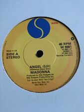 "MADONNA - 7"" Vinyl - Angel / Burning up - 1984 - Sire"