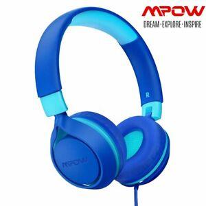 Mpow Kinder Kopfhörer Stereo Headset Faltbare Headphone mit Lautstärkebegrenzung