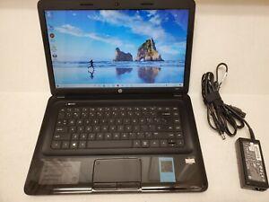"""HP 2000-2c29nr 15.6"""" Laptop AMD E1-2100 Dual Core 4GB 320B Win-10 DVD-RW Web-Cam"""