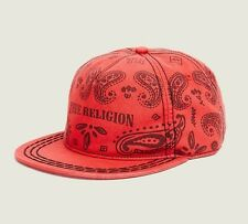 Nwt! TRUE RELIGION MEN'S BANDANA CAP OS , 100% AUTHENTIC!!