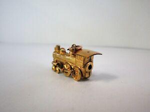 Antique Railroad Locomotive Engine Gold Filled Watch Fob