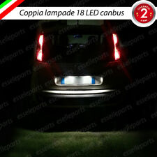 COPPIA LUCI TARGA 18 LED FIAT PANDA + PANDA CROSS CANBUS 6000K NO ERRORE
