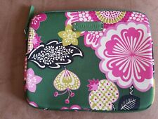 Vera Bradley Green Floral Neoprene iPad Tablet Cover Case