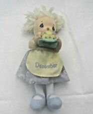 Precious Moments 13 Inch December Birthday Doll with Cake & Candles [Pl1]