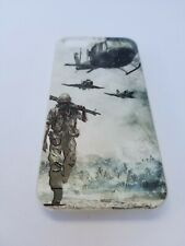 Case for iPhone 5G/5S With Adhesive Screen Protector Included: Military theme