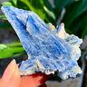 80G Rare!! Natural beautiful Blue KYANITE with Quartz Crystal Specimen Rough