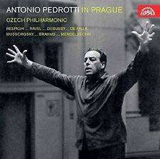 J. Brahms / Czech Ph - Antonio Pedrotti in Prague [New CD]