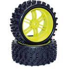 Couple Wheel CEN GL079 Wheel & Tyre Set For 1/5 Matrix Buggy Paire De Roues