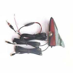 Car Universal Roof Mount Amplified WIFI GPS + FM Radio Aerial Antenna 5 Meters