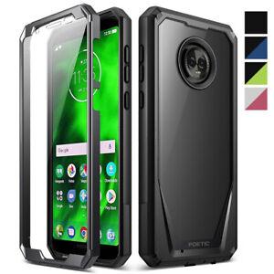 Motorola Moto G6 Cell Phone Case Poetic® Armor Heavy Duty Shockproof Cover