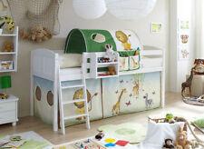 Weiße Kinder-Bettgestelle ohne Matratze aus Kiefer zum Zusammenbauen