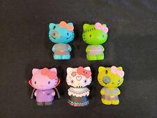 Lot of (5) Funko Horror Hello Kitty Halloween Blind Mystery Minis Vinyls Loose