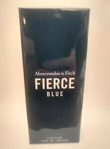 Abercrombie & Fitch FIERCE Blue 3.4 oz  Men's Cologne Sealed