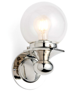 Rejuvenation Home Lighting A2144 Pittock Single Wall Sconce in Polished Chrome