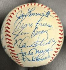1959 Philadelphia Phillies Team Signed Official National League BALLL 26 SIG JSA