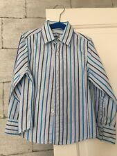 Boys Next Formal Dress Shirt Age 4 Blue Striped