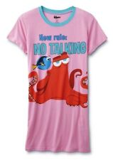 FINDING DORY Size Large Womens Nightgown Disney Pajamas Sleep Shirt Nemo NEW NWT