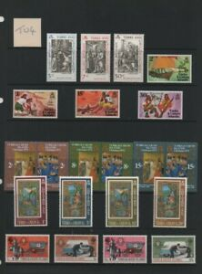 Lot TU4: Turks & Caicos Unmounted Mint Stamp Selection