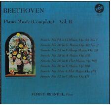 Beethoven: Piano Music Vol. II (Sonate OP.49, 78, 101, 106) / Alfred Brendel LP