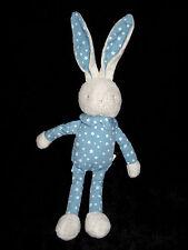 Doudou Lapin gris bleu étoiles Bébé Laboratoires Klorane 39 cm