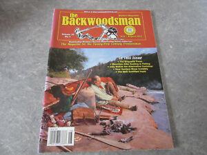 THE BACKWOODSMAN Magazine, JULY/AUGUST 2012, BRIQUETTE PRESS, SURVIVAL, GUNS!