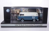 #P02032 - Premium ClassiXXs VW Bus T2 Bulli Currymobil Service Factory - 1:43