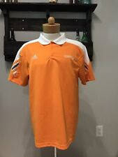 Mens Adidas Climalite Polo Shirt Size Large Tennessee Volunteers Football