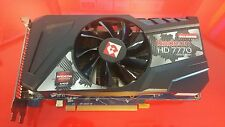 Radeon HD 7770 GHZ Edition Video Graphics Card 1GB Gaming PCI-E Express HDMI DVI