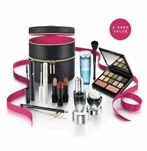Lancome 2019 Holiday Glow Collection Beauty Box 11 Full Size Set -NEW